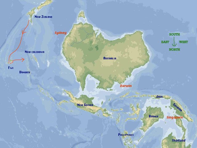 Scorpio sails from fiji to vanuatu downundermirror gumiabroncs Gallery