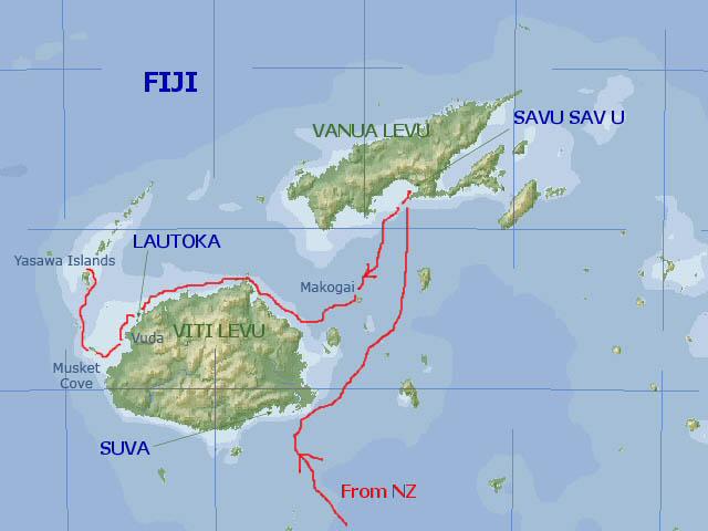 Scorpios maps fiji our route through fiji gumiabroncs Gallery